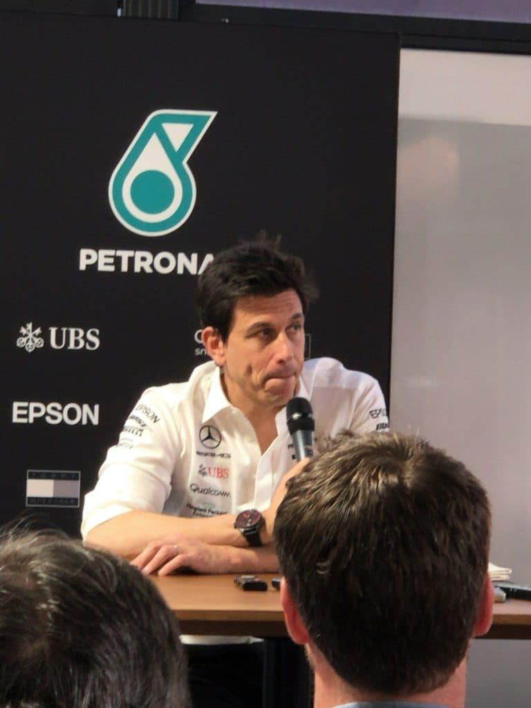 Toto Wolf - Post Race Press Conference AusGP 2019