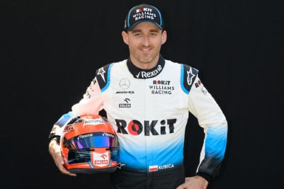 Robert Kubica darf endlich wieder in der F1 Gas geben
