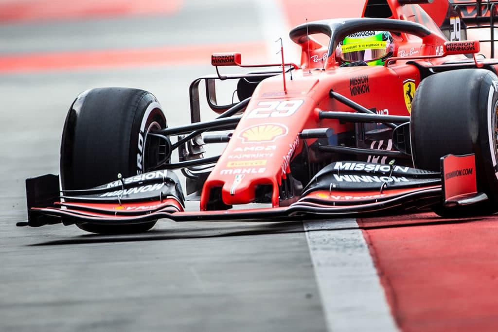 Mick Schumacher Bahrain Test