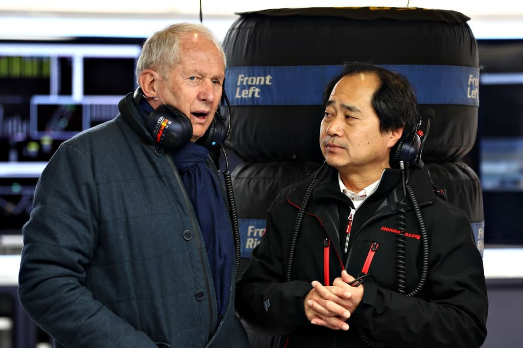 Red Bull and Honda 2019-03