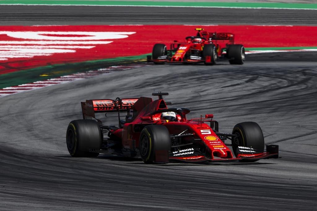 Vettel Leclerc 2019