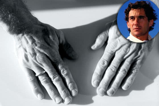 Jo Leberers Hände haben Senna massiert