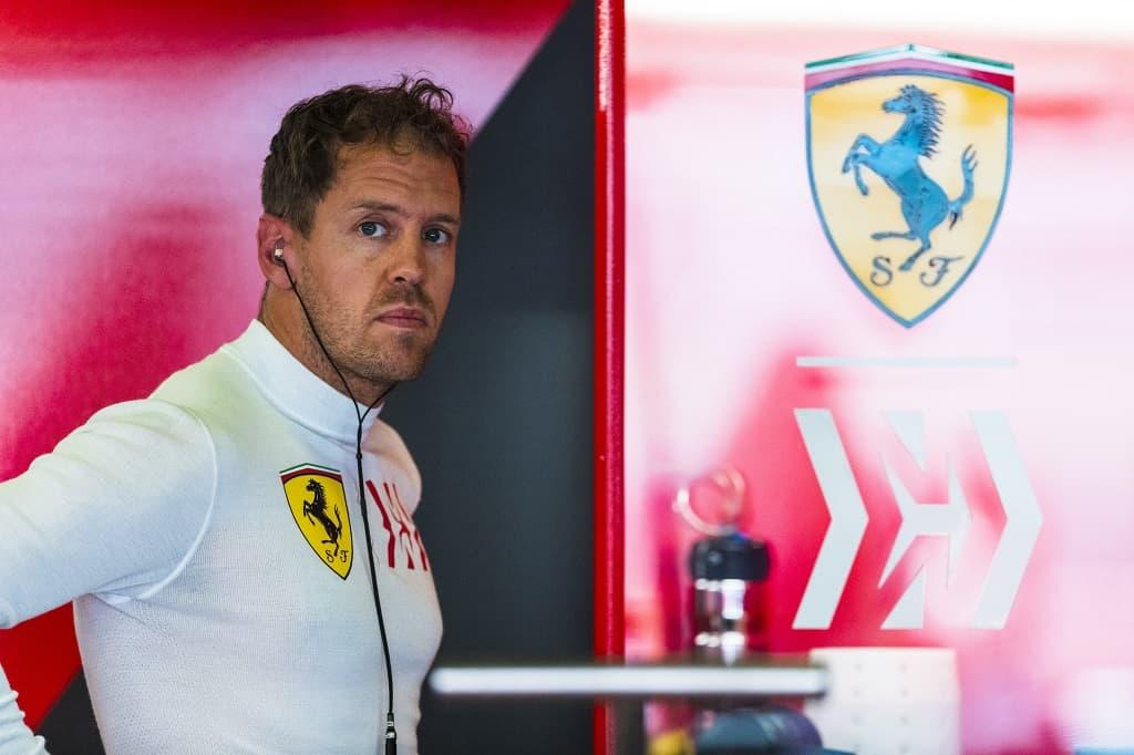 Sebastian Vettel Spanish GP Race 2