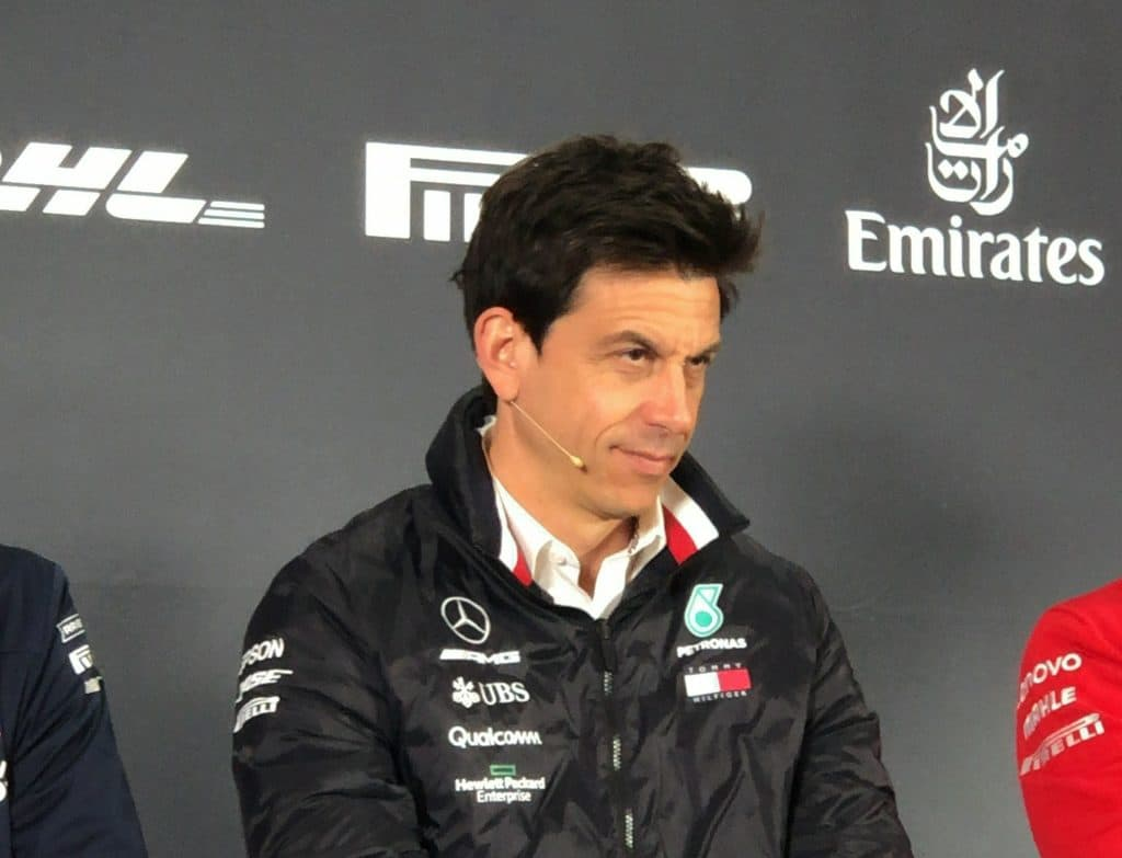 Toto Wolff - china GP 2019