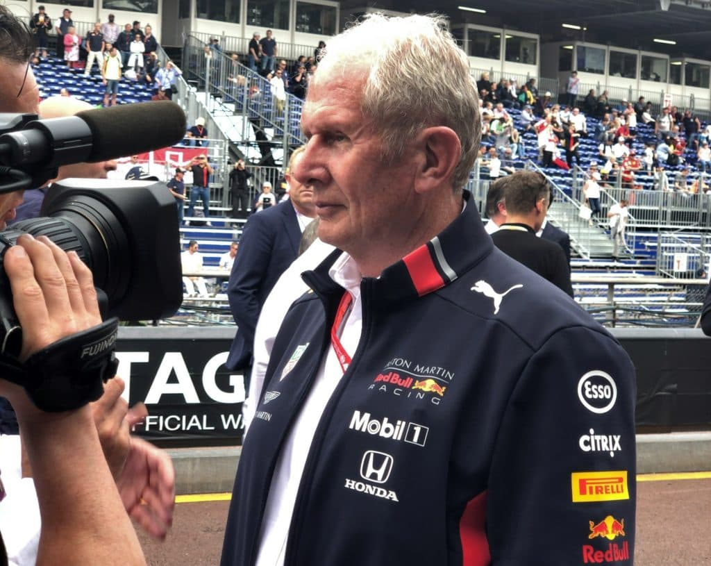 Red Bull Marko Monaco 2019
