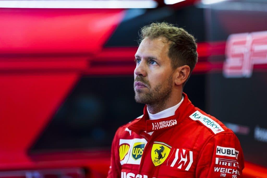 Vettel Azerbaijan 2019