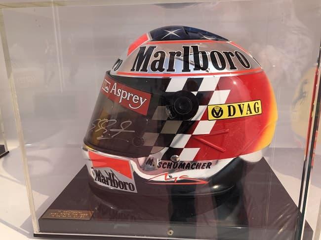 Schumacher Helmet 1998