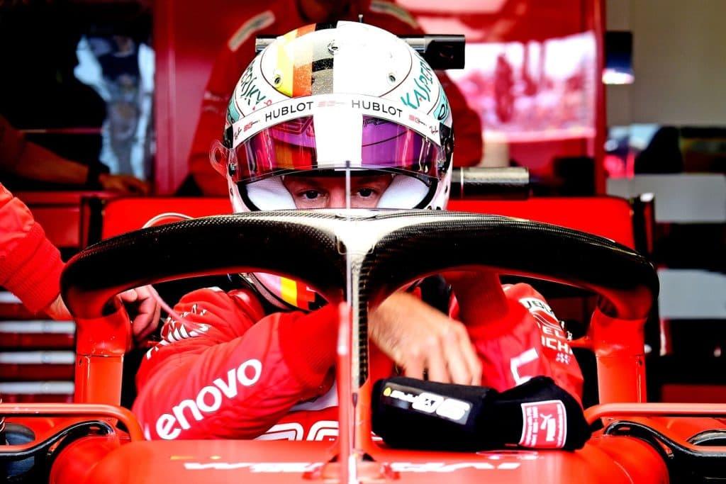 Sebastian Vettel UK 2019