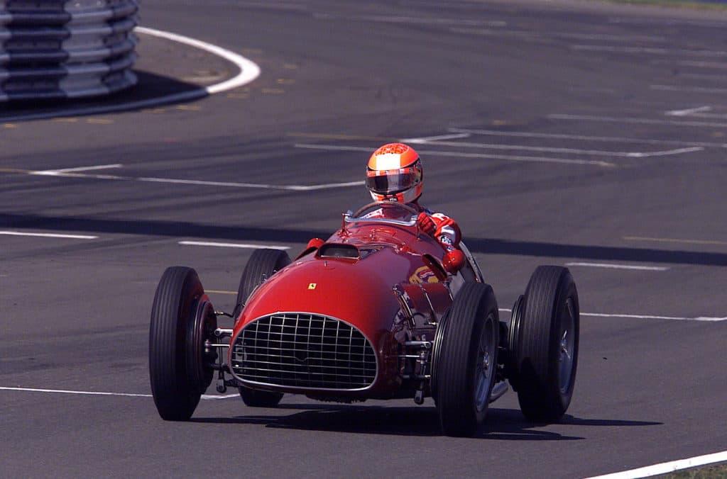 Schumacher Silverstone 2001