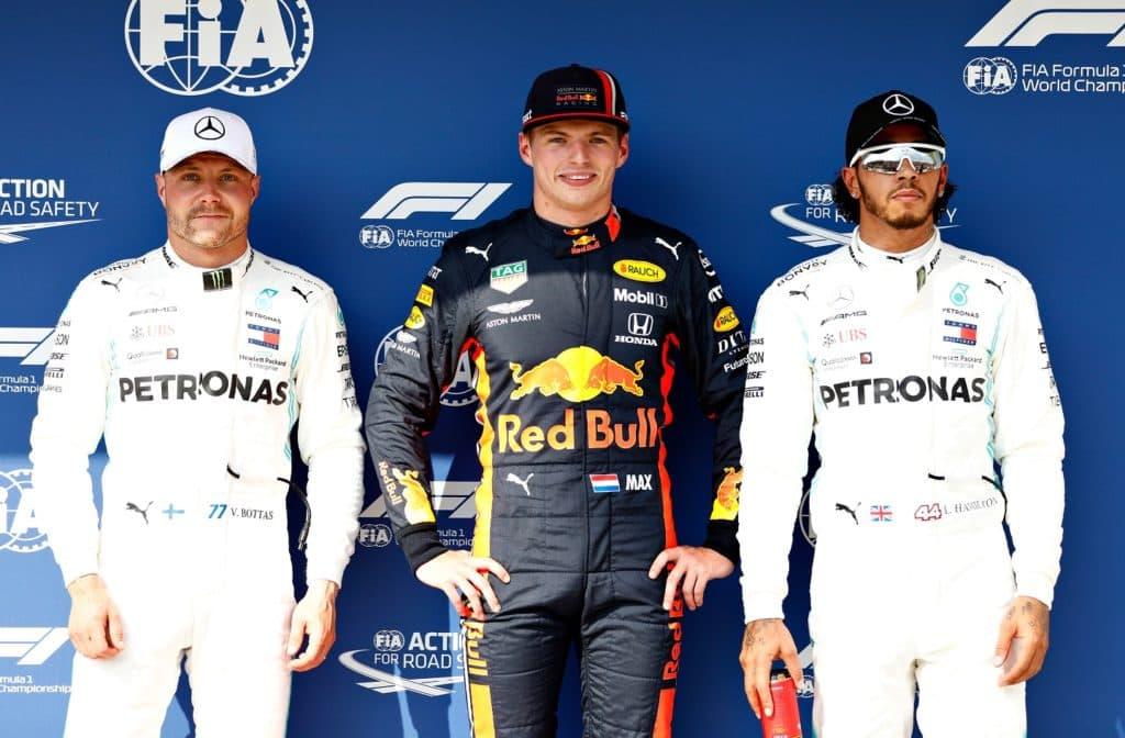 Verstappen Pole Hungary 2019
