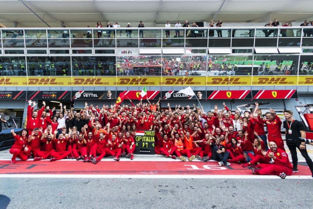 Ferrari Monza Victory 2019
