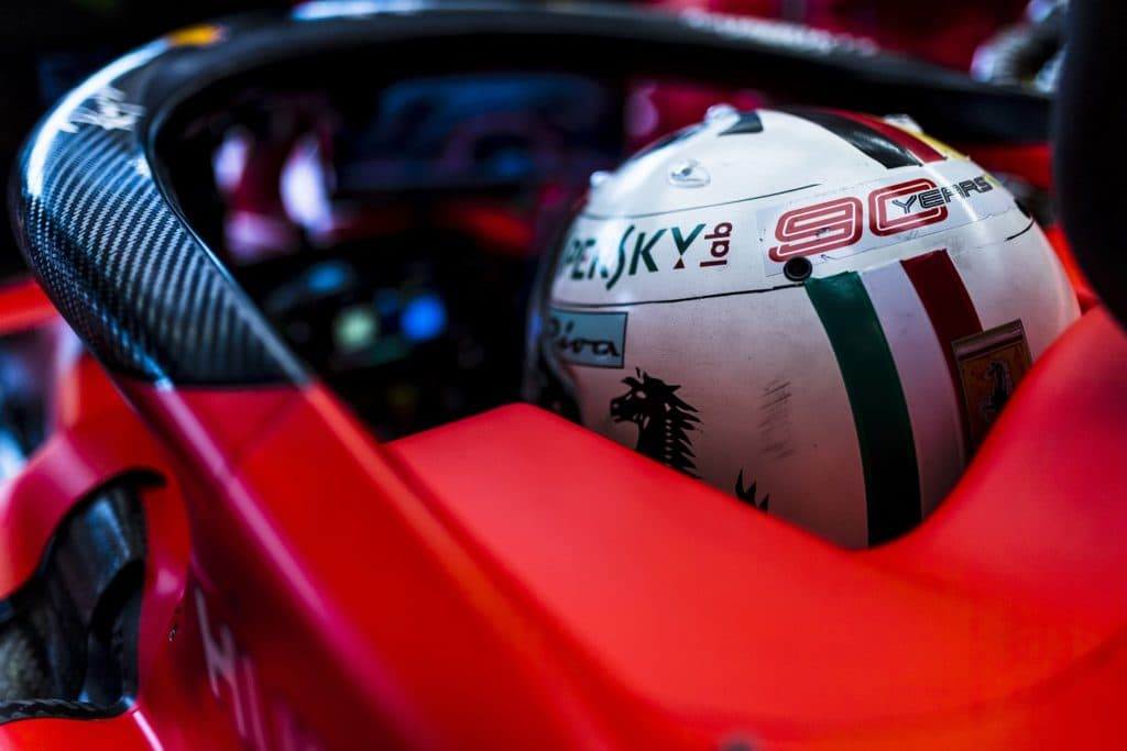 Vettel Monza 2019