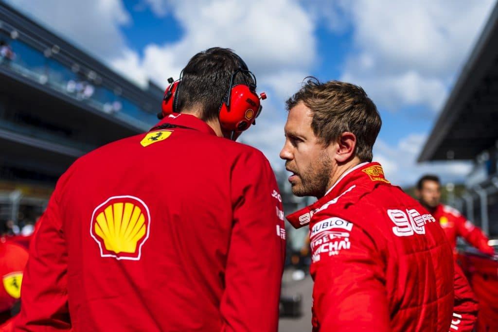 Ferrari Vettel 2019 Sochi