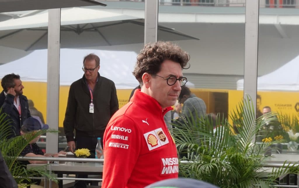 Mattia Binotto Credit: Ferrari