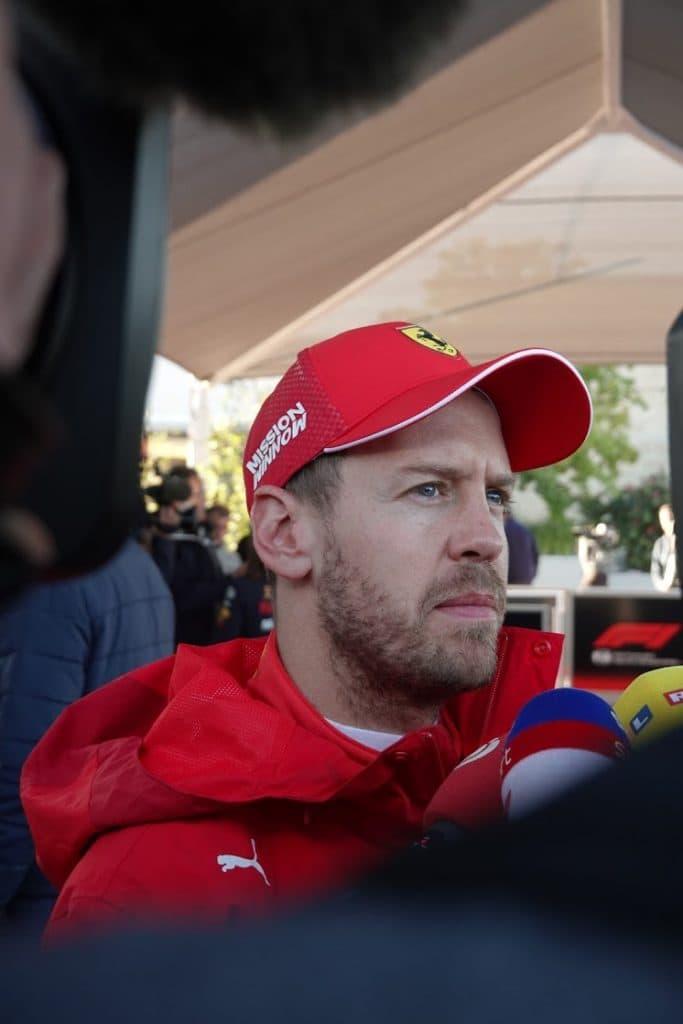 Sebastian Vettel Ferrari GP USA Austin