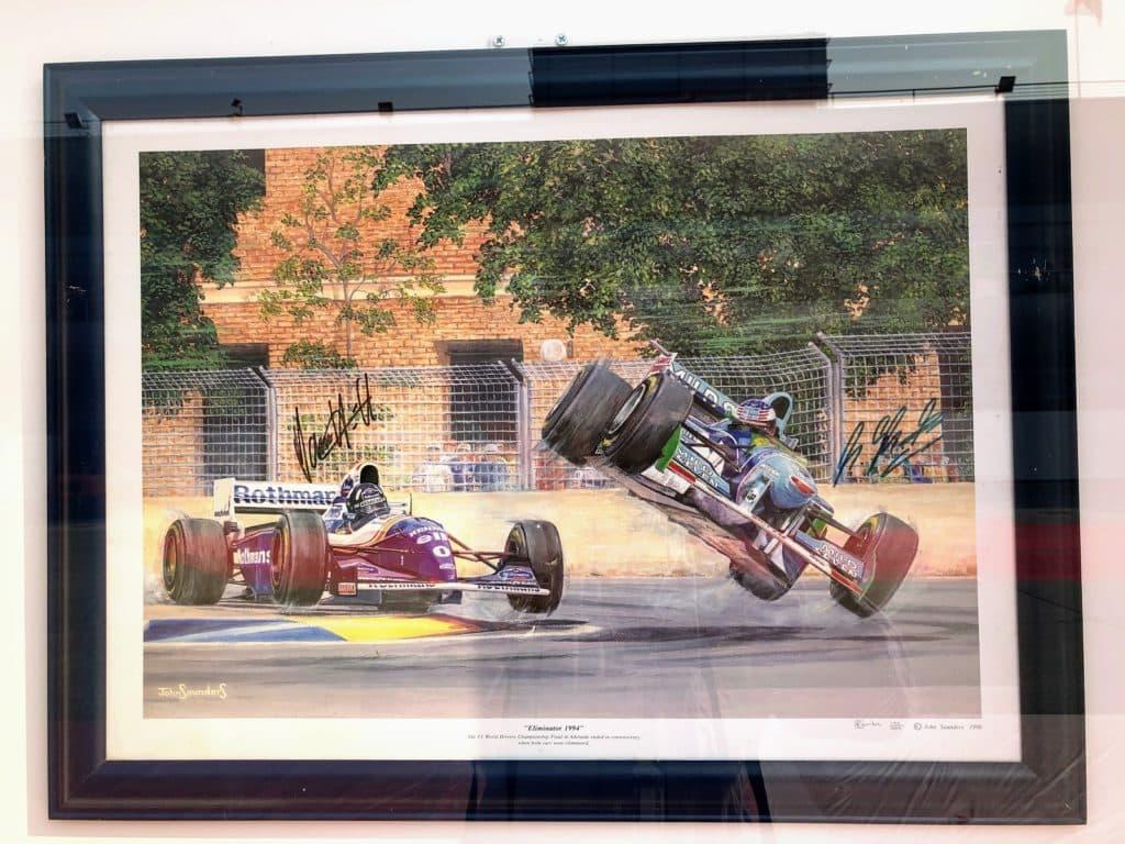 Damon Hill Schumacher incident 1994