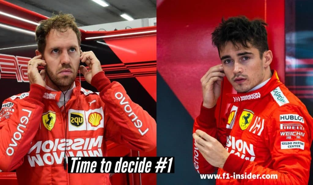Vettel or Leclerc 2019