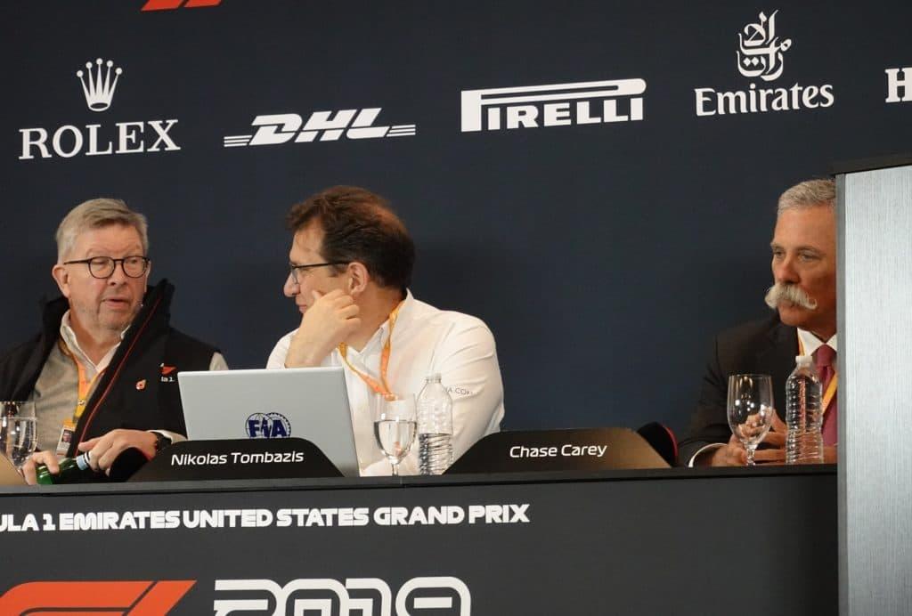 Formel 1 und FIA