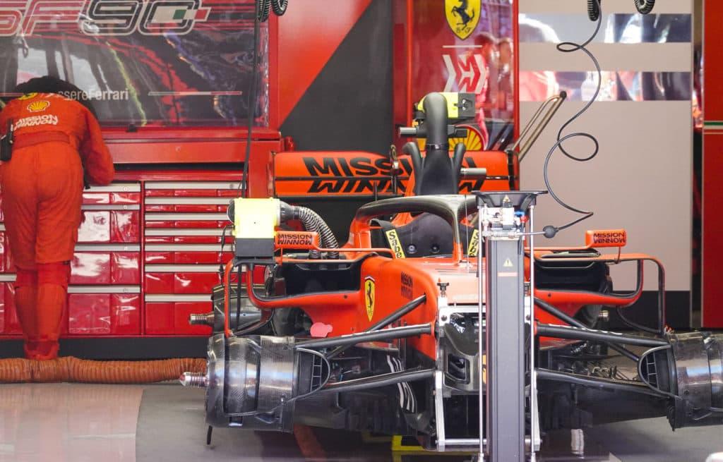 Ferrari Garage Austin 2019