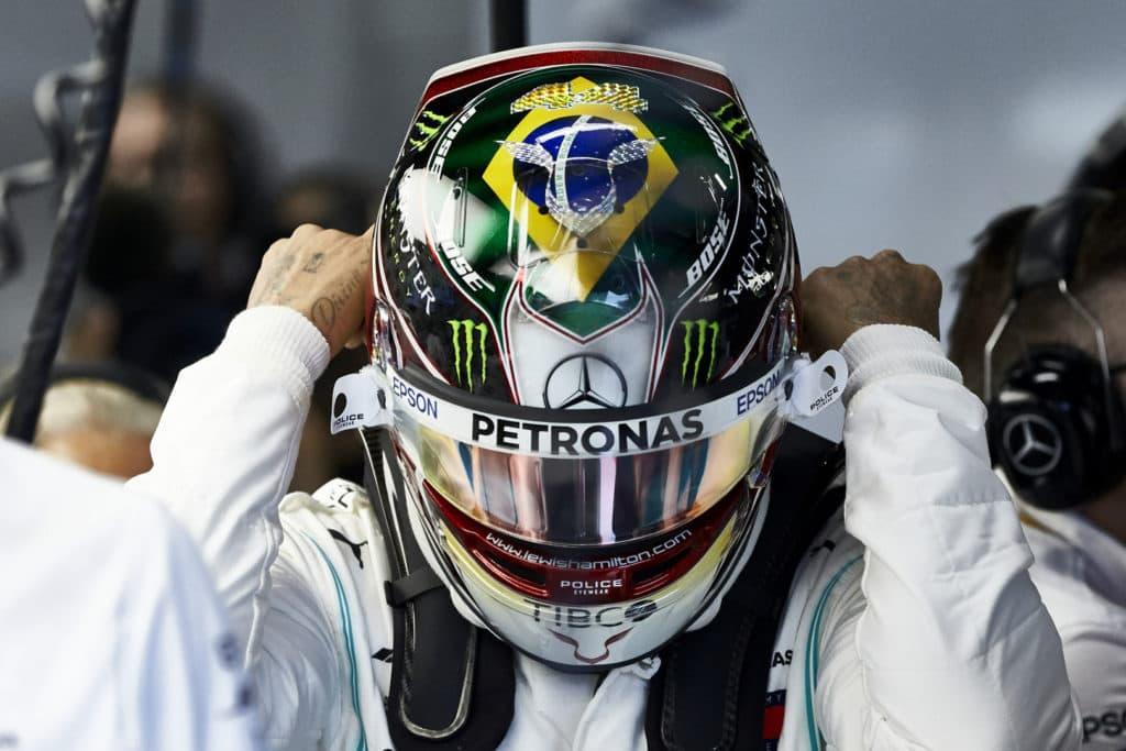 Lewis Hamilton Brazil 2019