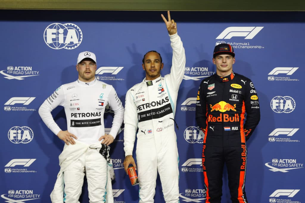 Abu Dhabi Qualifying results 2019