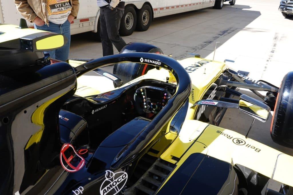 Renaults F1 Austin 2019