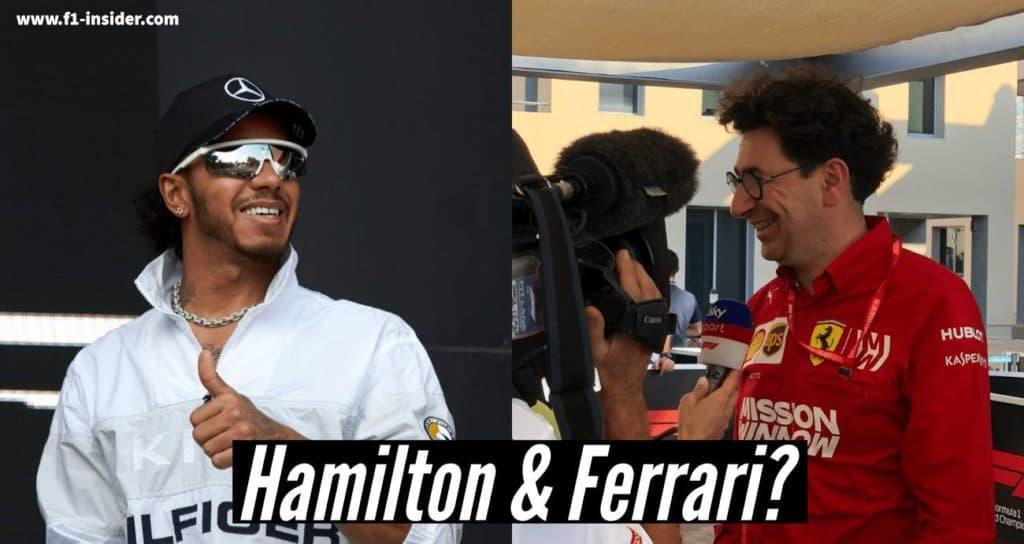 Hamilton und Ferrari: Liebesheirat 2021?
