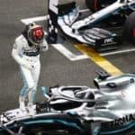Mercedes Abu Dhabi Pole 2019