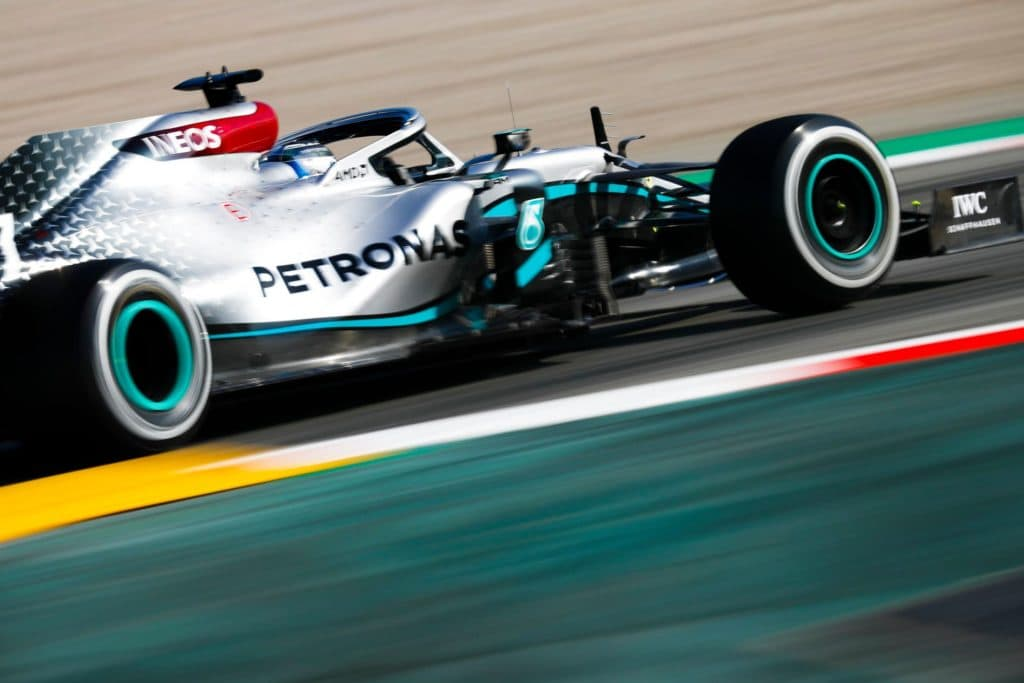 Mercedes Test Barcelona 2020