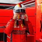 Ferrari Vettel Barcelona Formel 1 Test