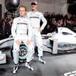 Schumacher Rosberg 2010 Mercedes