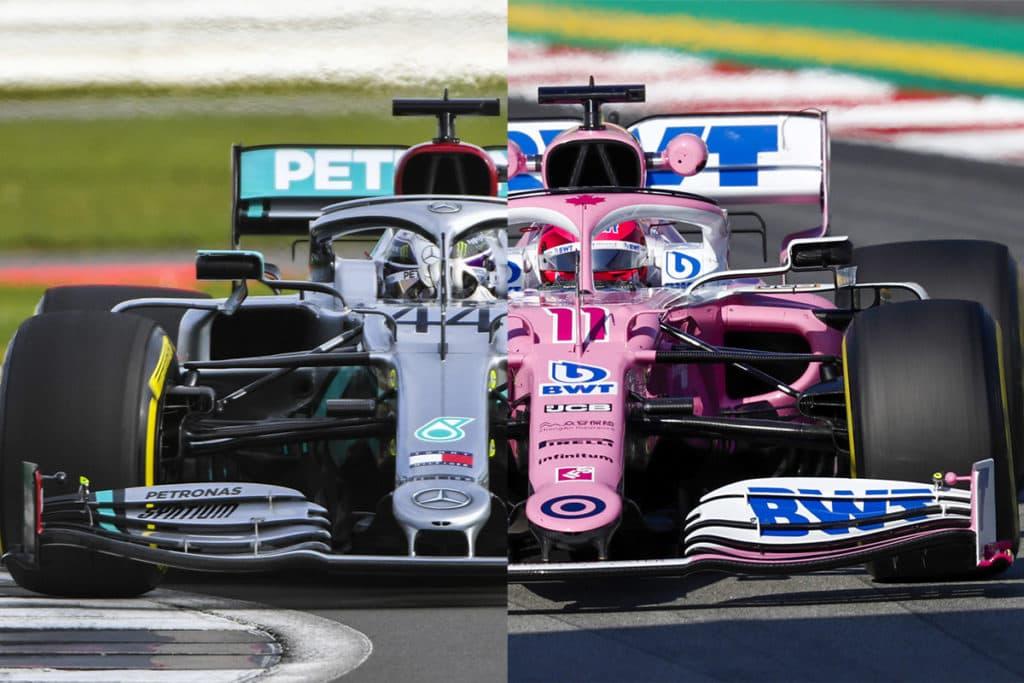 Die FIA bestrafte Racing Point nur mild nach dem das Team offensichtlich den Vorjahres Mercedes 2020 kopiert hatte.