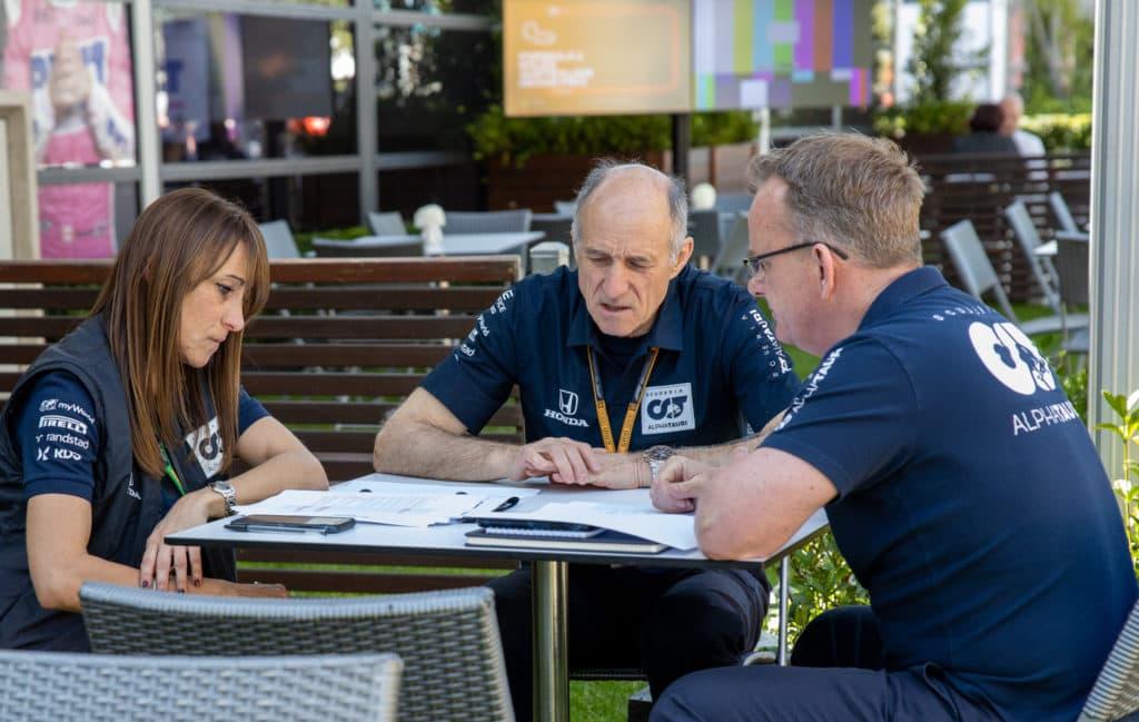 Franz Tost Formel 1 Melbourne. Credit: F1-Insider.com