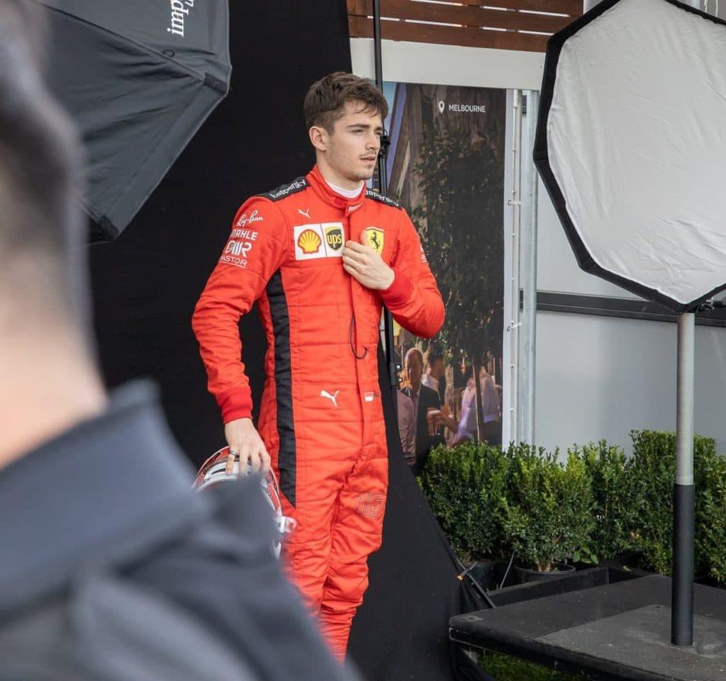 Leclerc ist mit dem Coronavirus infiziert. Credit: F1-Insider.com