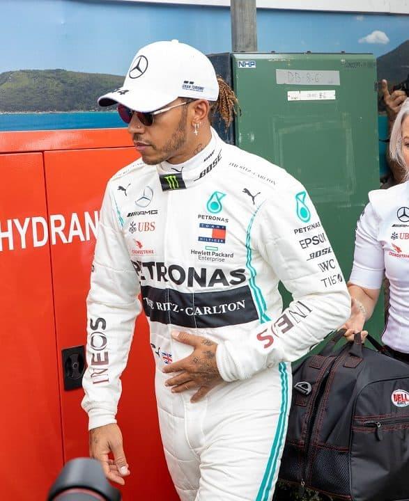 Lewis Hamilton Formel 1 Melbourne. Credit: F1-Insider.com