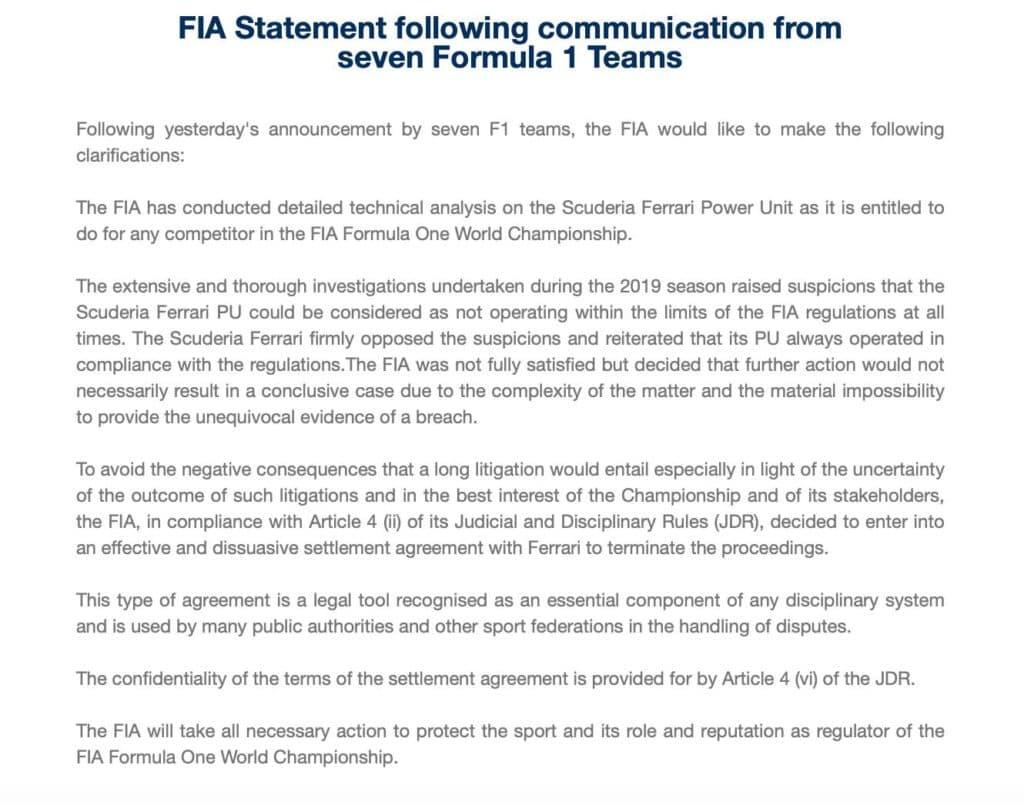 Ohne Ecclestone: FIA und Ferrari am Pranger