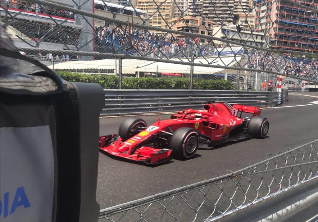 Ferrari in Monaco. Credit: F1-Insider.com