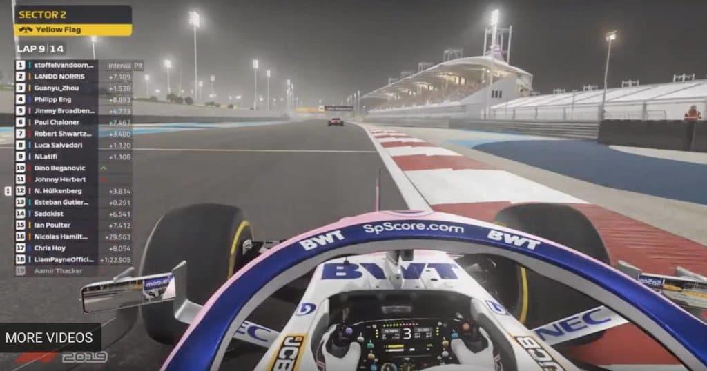 Virtual Bahrain GP