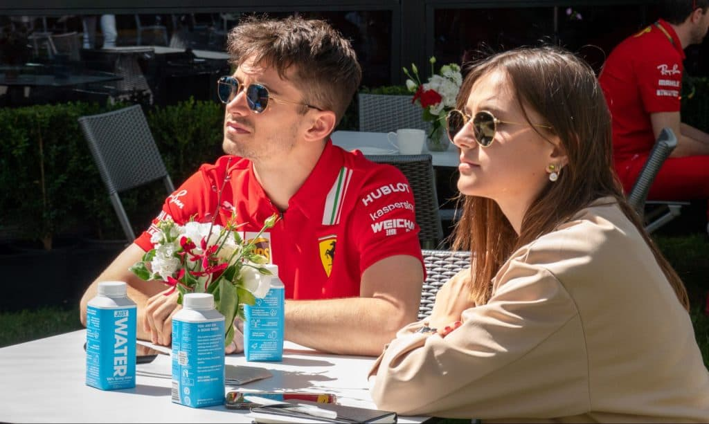 Leclerc Ferrari Formel 1 Melbourne. Credit: F1-Insider.com