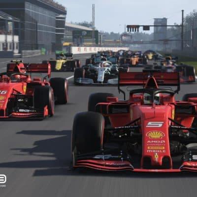 Video: Erster Test der F1-Insider Racing League