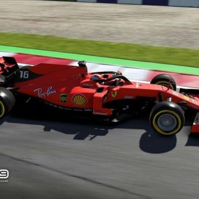 Charles Leclerc in F1 2019