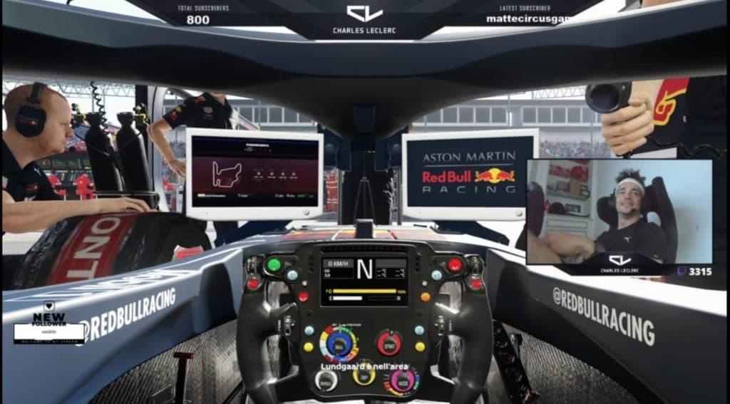 Leclerc und Verstappen geben Simracing-Einblicke
