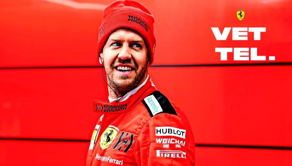 Vettel. Credit: Ferrari