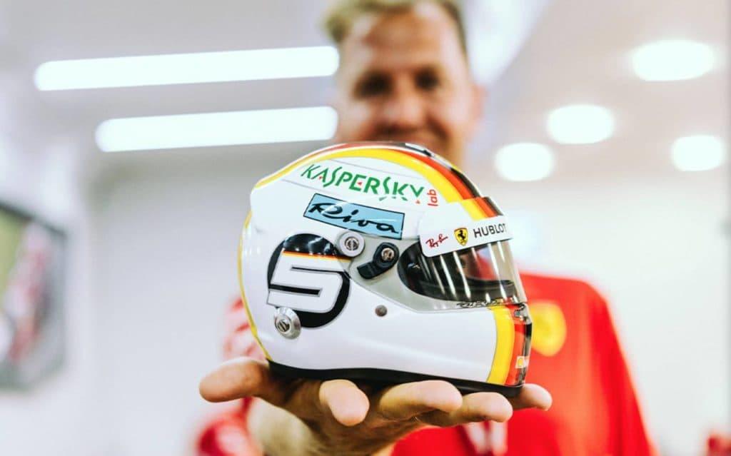 Sebastian Vettel. Credit: Ferrari