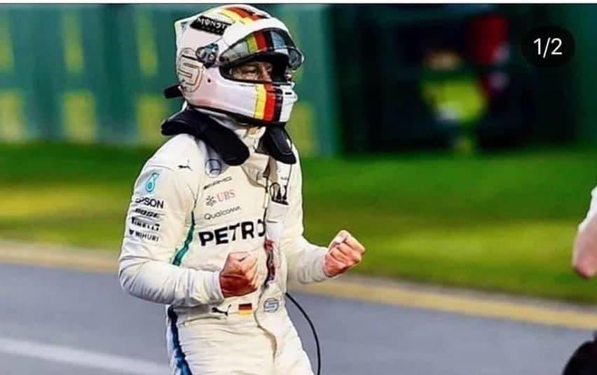 Vettel zu Mercedes? (Montage)