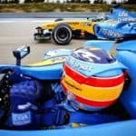 Alonso im Renault 2005
