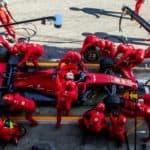 Vettel Ferrari. Credit: Ferrari