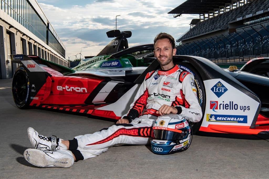 René Rast wechselt in die Formel E; Credit: Audi