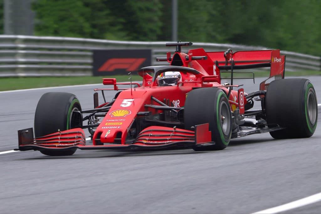 Sebastian Vettel Credit: FIA/F1