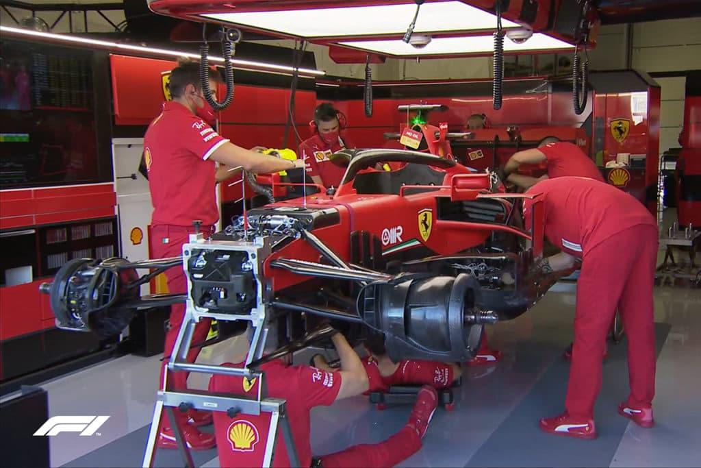 Sebastian Vettel, Credit: F1 TV